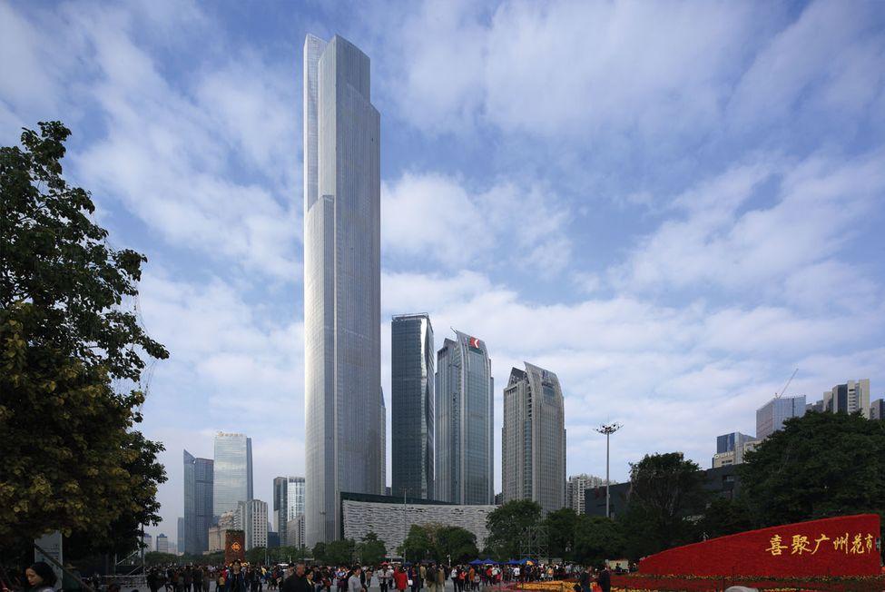 Guangzhou CTF Finance Centre, Guangzhou, China - Mythgyaan