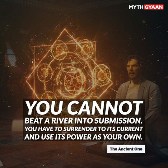 All you need to do is focus. Visualize.See the destination in your mind.Look beyond the world in front of you.Imagine every detail.The clearer the picture, the quicker and easier... the gateway will come. - Karl Mordo Quotes - Doctor Strange