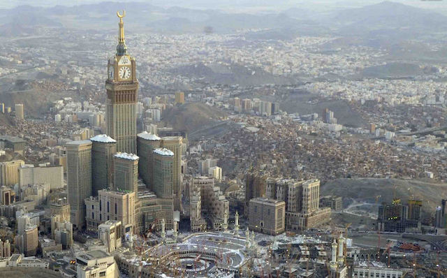 Abraj Al Bait, Mecca, Saudi Arabia - Mythgyaan - Tallest Buildings in the World 2019