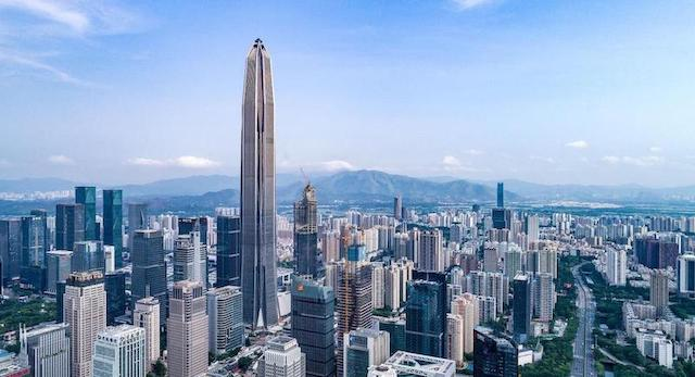 Ping An International Finance Centre, Shenzhen, China - Mythgyaan - Tallest Buildings in the World 2019