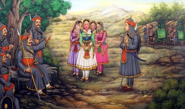 Maharana Pratap Respect for women