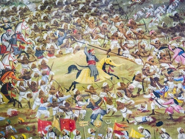 Maharana Pratap's bravery in Haldighati War