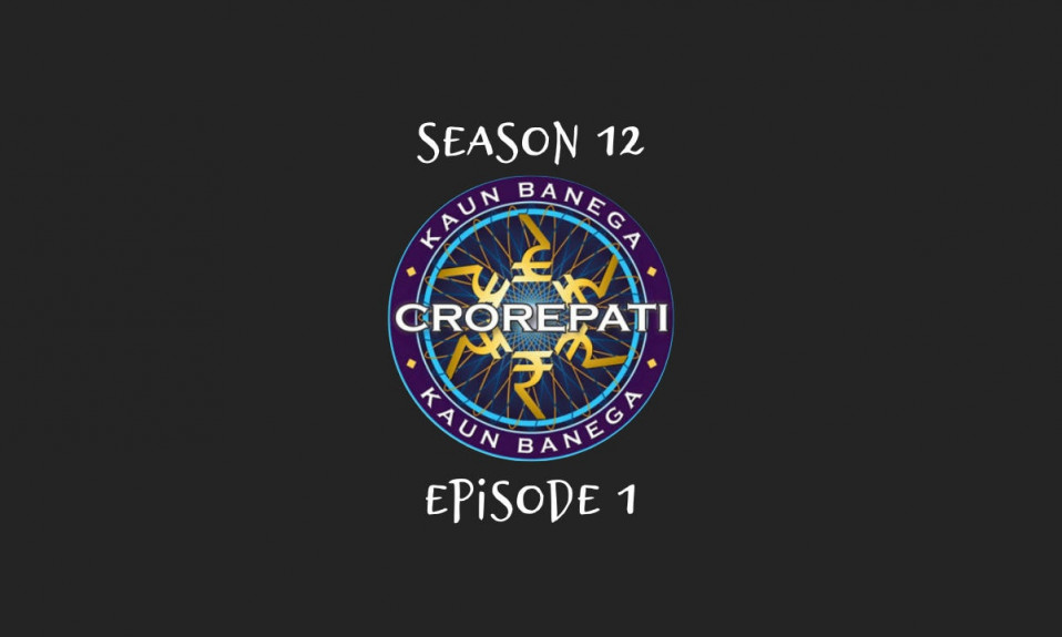 Kaun Banega Crorepati (KBC) Questions & Answers Season 12 Episode 1