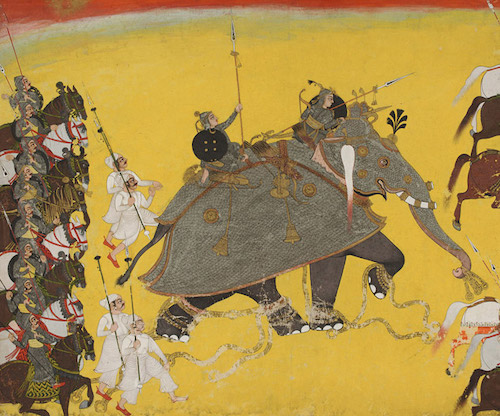 Maharana Pratap's mighty elephant Ramprasad