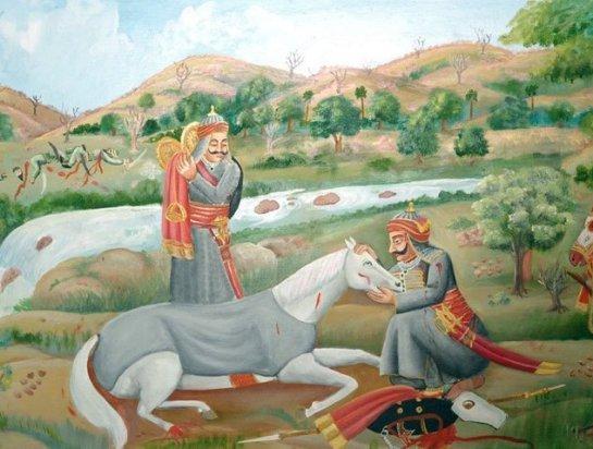 Chetak became immortal along with Maharana Pratap